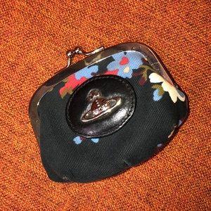Vivienne Westwood Floral Coin Purse
